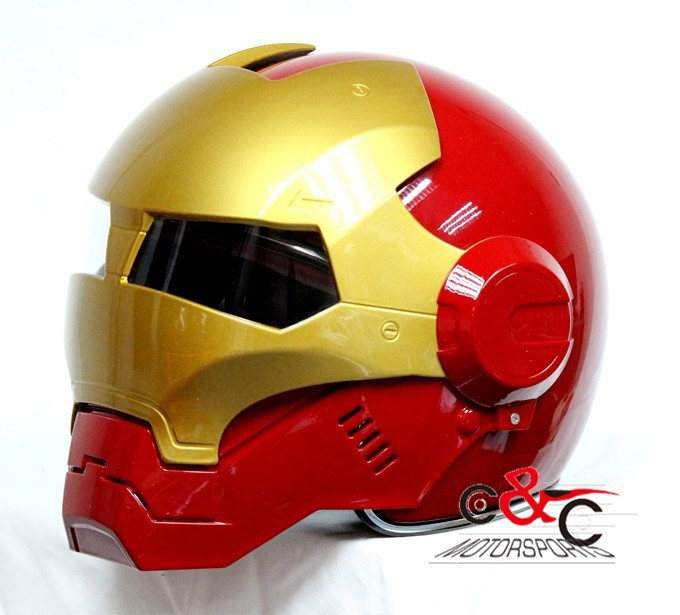 iron man casque masei ironman610 moiti casque moto casque. Black Bedroom Furniture Sets. Home Design Ideas