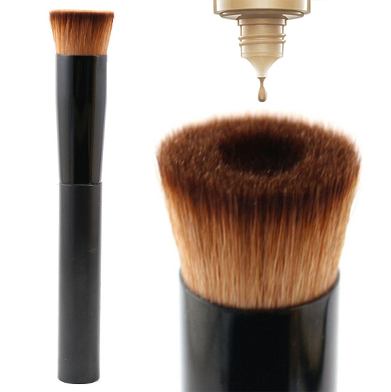 2015 Newest Single Flat Top Liquid foundation brush Professional Kabuki Makeup Brushes Face Make up Tool