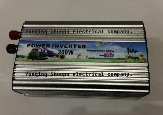 high quality 300w Pure Sine Wave Power Inverter 24VDC to 220VAC dc 24v to ac 220v Power inverter Car Inverter Converter(China (Mainland))
