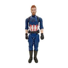 30 centímetros Titan Herói Marvel Avengers 3 Infinito Guerra Thanos Collectible Modelo Toy Action Figure PVC Brinquedos para As Crianças(China)