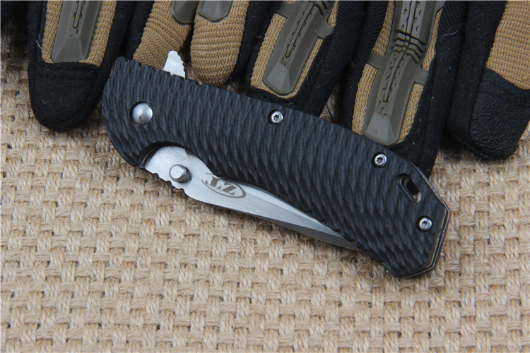 Buy ZT Stainless Steel Tactical Folding Knife 58HRC 5Cr13Mov Blade Outdoor Survival Camping Hunting Knives Self-defense cheap