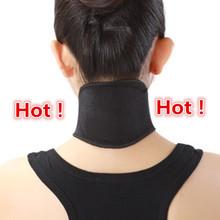 Turmalina Guarda Pescoço Auto-aquecimento Brace Suporte Espontânea Aquecimento Cinto Turmalina Terapia Magnética Envoltório Proteger Pescoço chaves