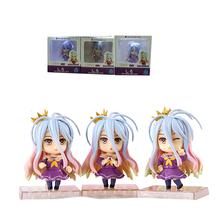 3pcs/set GSC No Game No Life Cute 4″ Anime Shiro Boxed PVC Action Figure Collection Model Toys Gift 11cm