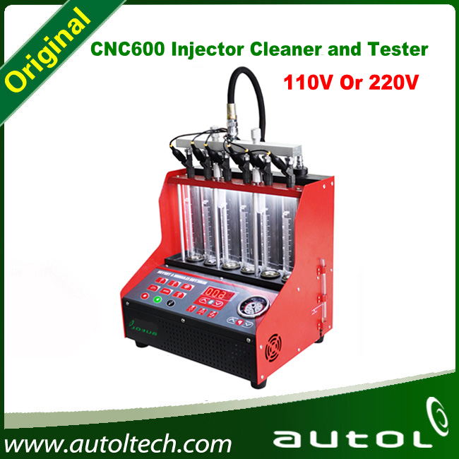 New Products CNC600 fuel injector tester with cleaner and launch cnc 600 injector cleaner and tester(China (Mainland))