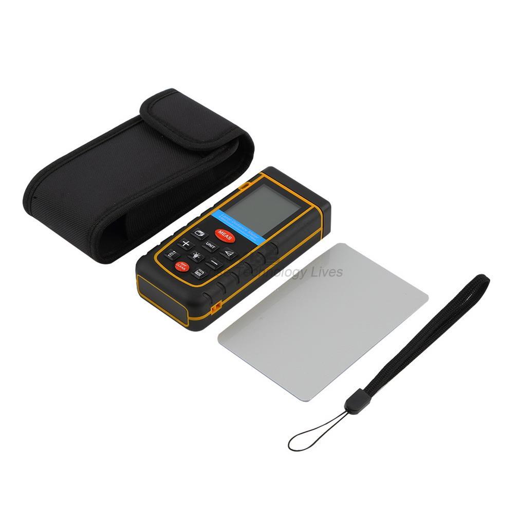 1pcs Professioanl RZ-A100100M/328ft/3937in Mini Digital Laser Distance Meter Range Finder Measure Hot Worldwide