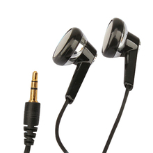 New Black Portable 3.5mm Stereo Earphones Headphones Earbud for OPPO MP3 PC