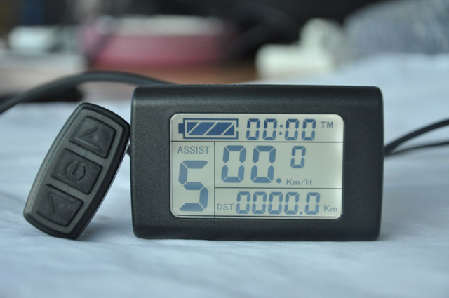 Electric Bicycle Display - KT-LCD2(B) DISPLAY METER E-Bike DIY Best Choice 24/36/48V