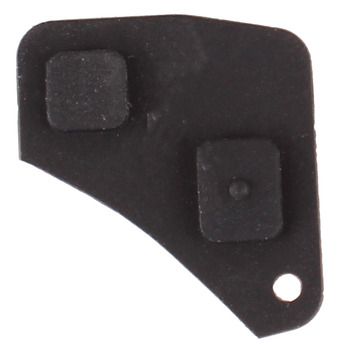 Replacement 2 Button Remote Key Fob Repair Kit Switch Rubber Pad For Toyota RAV4 Corolla Camry Prado Black