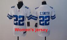 A+++ Women ladies all stitched Dallas Cowboys ladies 82 Jason Witten 9 Tony Romo 19 Miles Austin 50 Sean Lee 88 Dez Bryant(China (Mainland))