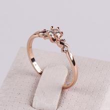 OL Lady Trendy Eight Heart Eight Arrows Zircon Ring 18K Rose Gold Plated Fashion High-grade Decorative Jewelry  FJ0003(China (Mainland))