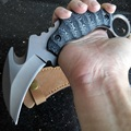 Cs go Karambit Knife Huntsman Outdoor Survival D2 Steel Blade Camping Tactical Claw Knives Pocket Hunting