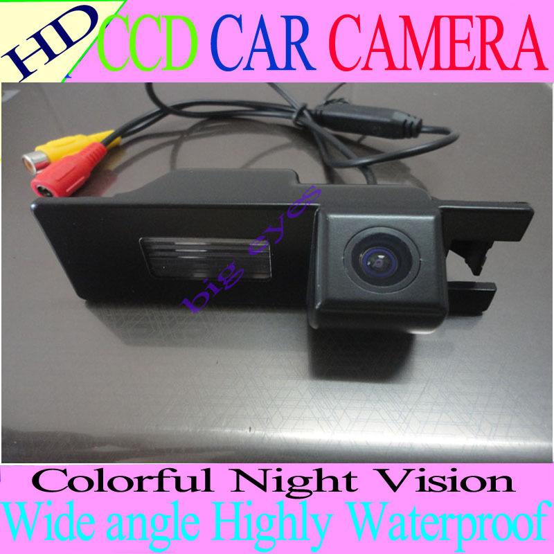 HD CCD Car Rear View Camera Reverse Parking Camera back up Camera Renault Megane Camera night vision waterproof High resolution(China (Mainland))