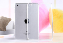 Hot Top Quality Free Shipping Crystal Clear Transparent TPU Silicone Rubber Skin Gel Case for Ipad 2/3/4 Jelly Case Cover