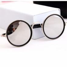 Vintage Round Cat Eye Male Female Sunglasses Men Women Sun Glasses Women's Men's Glasses Feminine Goggle