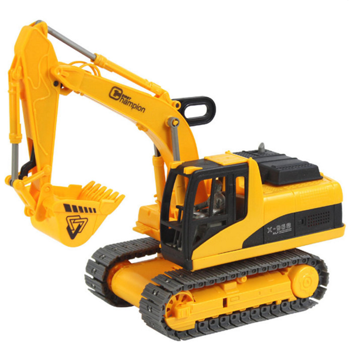 Children Engineering Vehicles Truck Super Excavator Model Simulation Car Children Toys Gift Best Kids Gifts With Nice Package #F(China (Mainland))