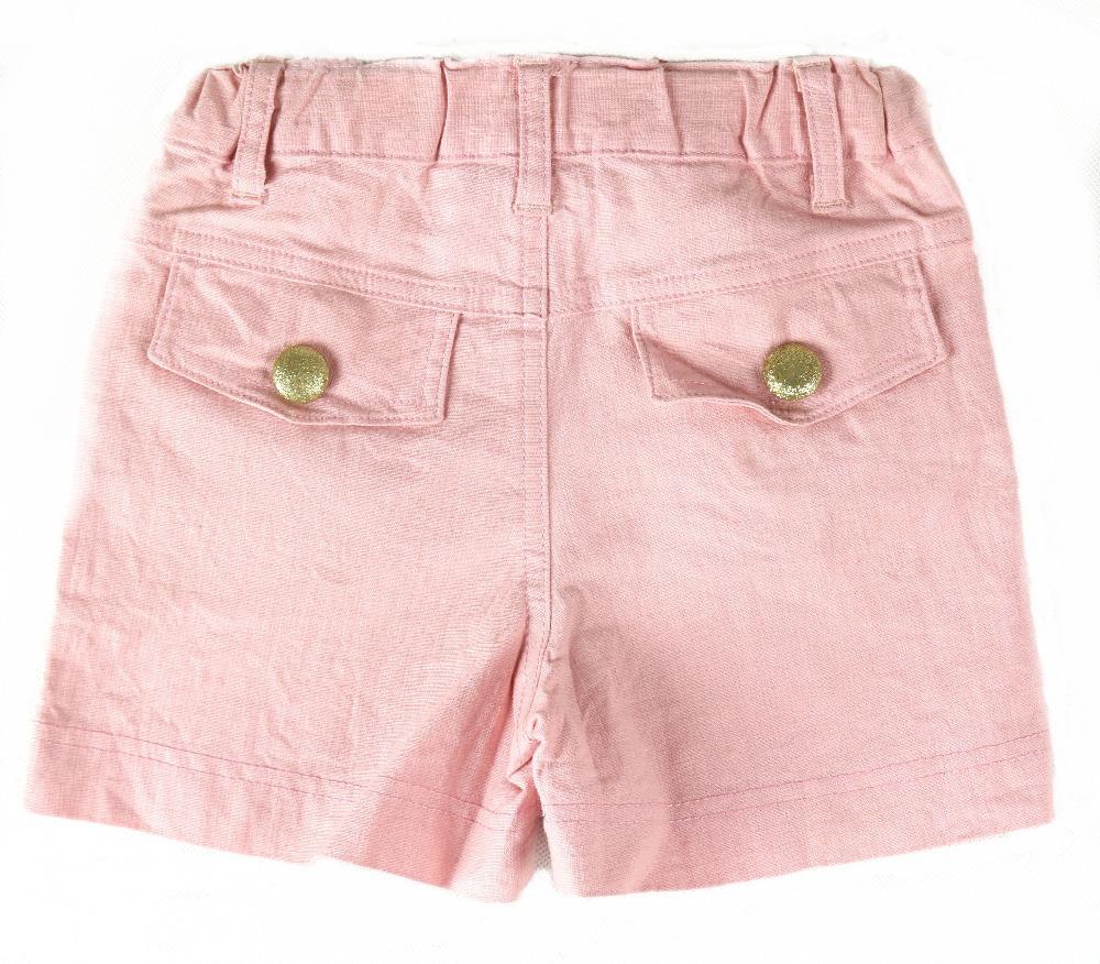Spedizione gratuita!  Del capretto della ragazza bambini pantaloni dei bambini dei pantaloni di estate delle ragazze rosa pantaloncini in tessuto!  Abbigliamento per bambini (MH-N2333)(China (Mainland))