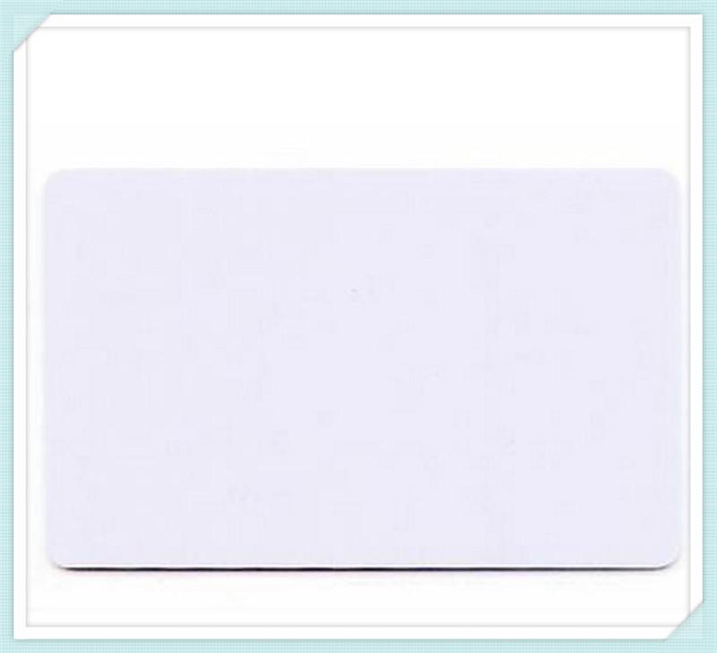 100pcs/lot Glossy inkjet blank pvc card/inkjet printable pvc card 86mm x 54mm x0.76mm(China (Mainland))