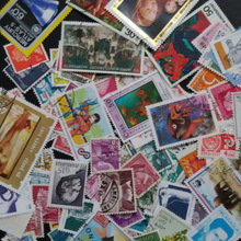 100 PCS/lot Postage Stamps From All Over the world ,all Used For Collection(China (Mainland))