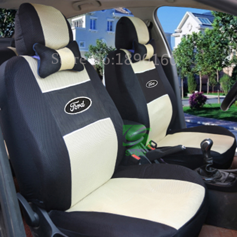 Universal Car Seat Covers For Ford All Models Mondeo Focus Fiesta Edge Explorer Taurus S Max
