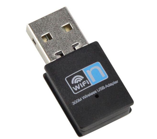 USB WIFI 300Mbps Antenna adapter Wireless rede transmitter network Card Mini wi fi adapter WI-FI emitter Internet usb wifi tv(China (Mainland))
