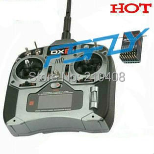DX6i RC Full Range 2.4GHz 6CH Remote Control with AR6200 Satellite receiver (Mode1 or Mode2)