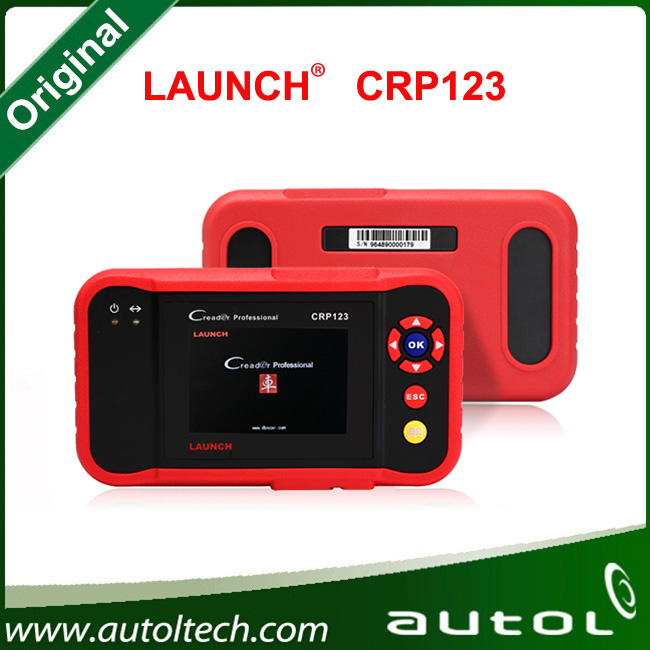 Excellent Launch Creader CRP123 Auto Code Reader Launch CRP123 CRP 123 OBD2 EOBD Scanner Supports All 10 Test Modes Of The OBD(China (Mainland))