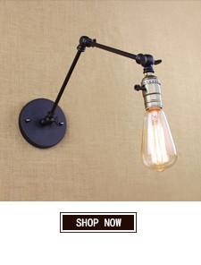 Edison light bulb Mini wall lamp Knob switch warehouse loft American country retro industry Vintage iron Small Wall Lamps
