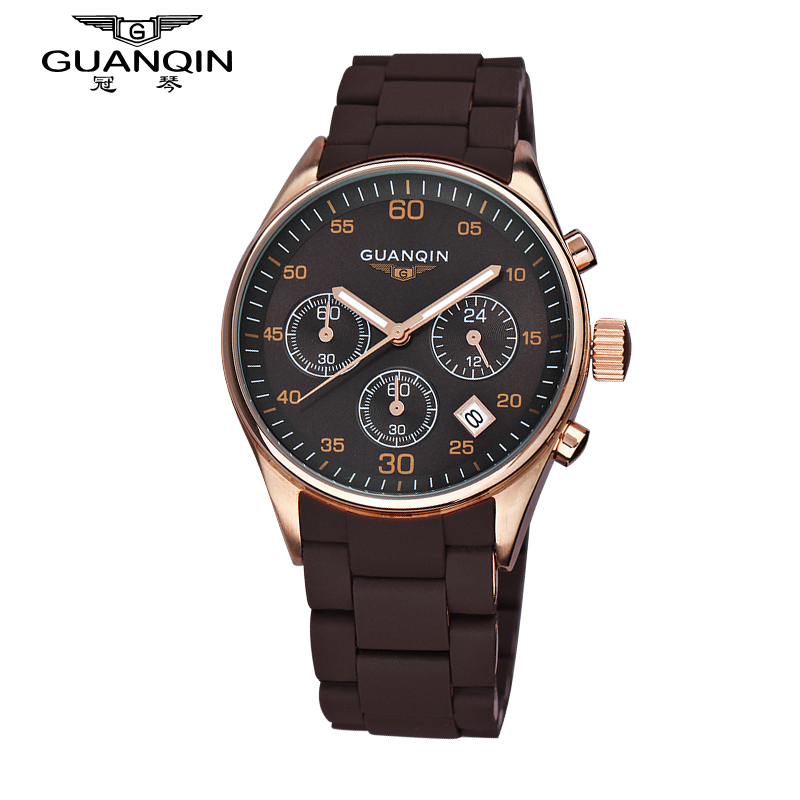 Top Luxury Brand Quartz Watches Men Fashion Waterproof Sapphire Mirror Stop Watch Men Sport Watches Relogios