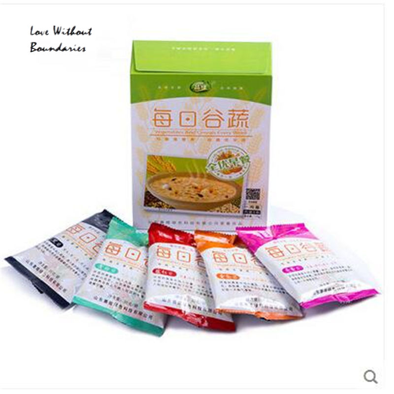grain product dried goods local specialty 175g/box Vegetable nutrition cereal dietary fiber Quality breakfast porridge(China (Mainland))