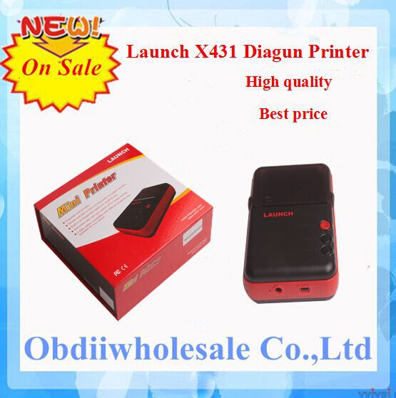 2015 Top-Rated 100% Original and Genuine Mini Printer for X431 Diagun and Diagun III Launch X431 Mini Printer With High Quality(China (Mainland))