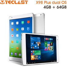 9.7 Inch Teclast X98 Plus Dual OS Intel Cherry Trail Tablet PC 4GB RAM 64GB ROM 2048x1536 Retina screen Windows 10 & Android 5.1(China (Mainland))