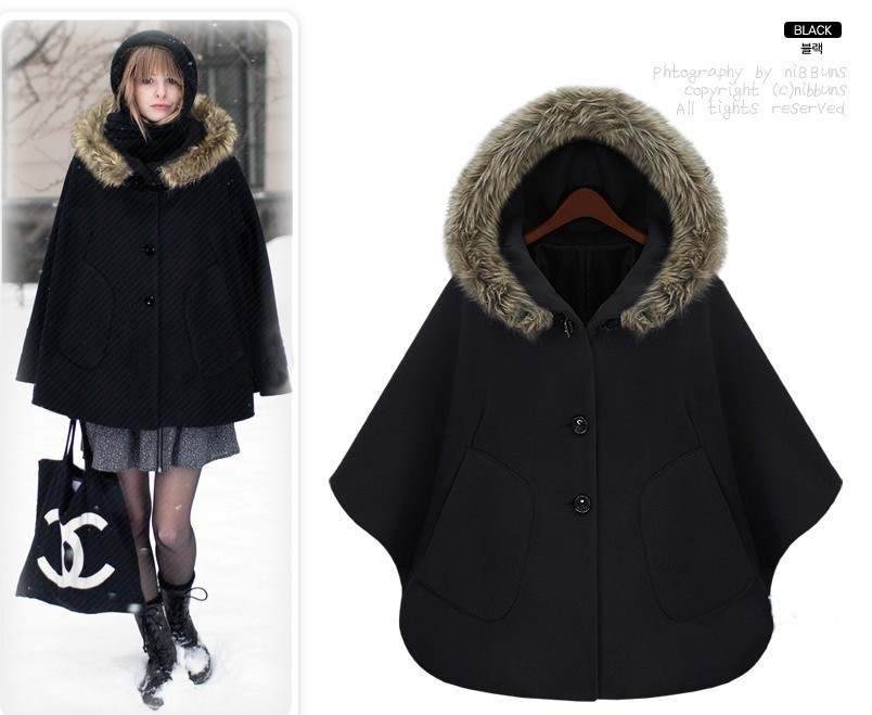 Commentaires nibbuns cape manteau faire des achats en ligne commentaires nibbuns cape manteau - Cape femme hiver ...