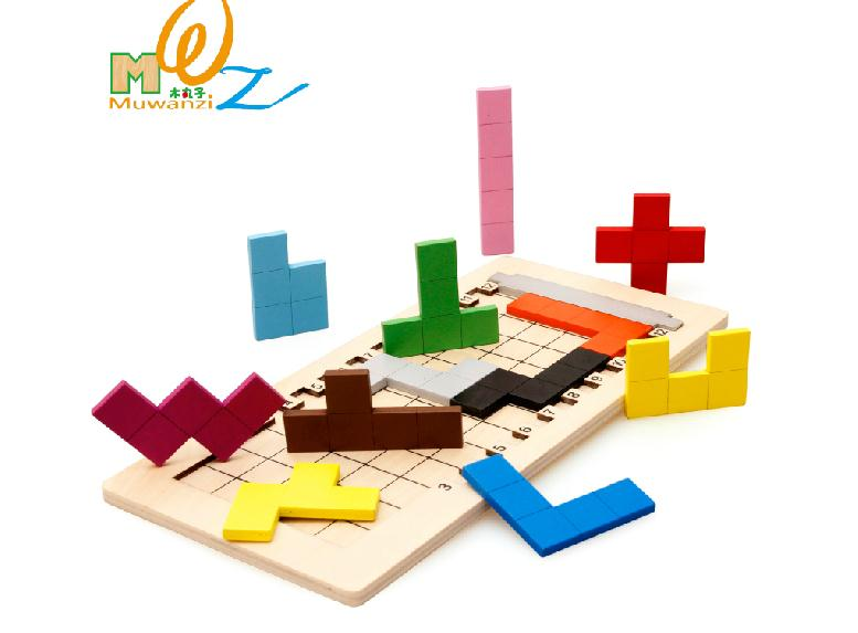 Free delivery kids educational classic toys thinking of the game cube puzzle(China (Mainland))