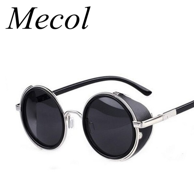 Солнцезащитные очки в стиле стимпанк. Мужские, женские. Разные цвета. M027
