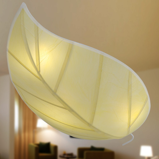 leaf design ceiling light special art ceiling lamp Modern