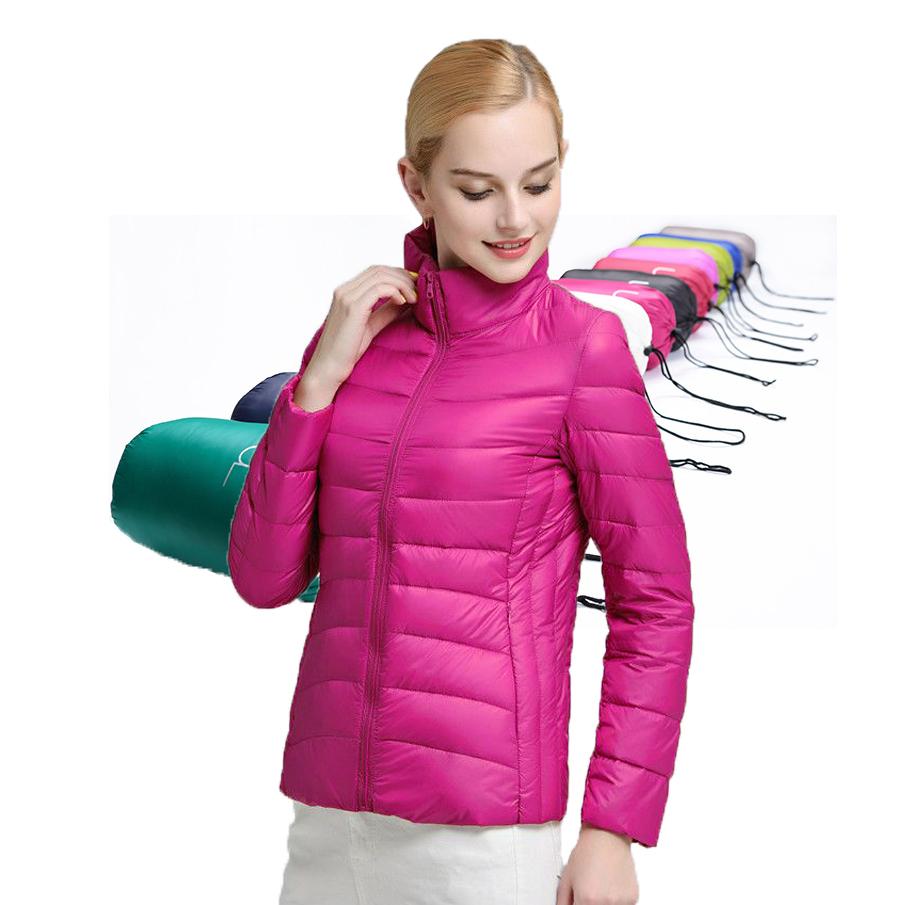 2016 winter women jacket 90% white duck down jacket coats ultra light duck down jacket parka women warm outdoor snow parka(China (Mainland))