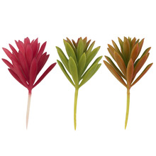 1pc Artificial Succulent Without Pot Plant Grass Garden Home Decor DIY Hot Selling(China (Mainland))