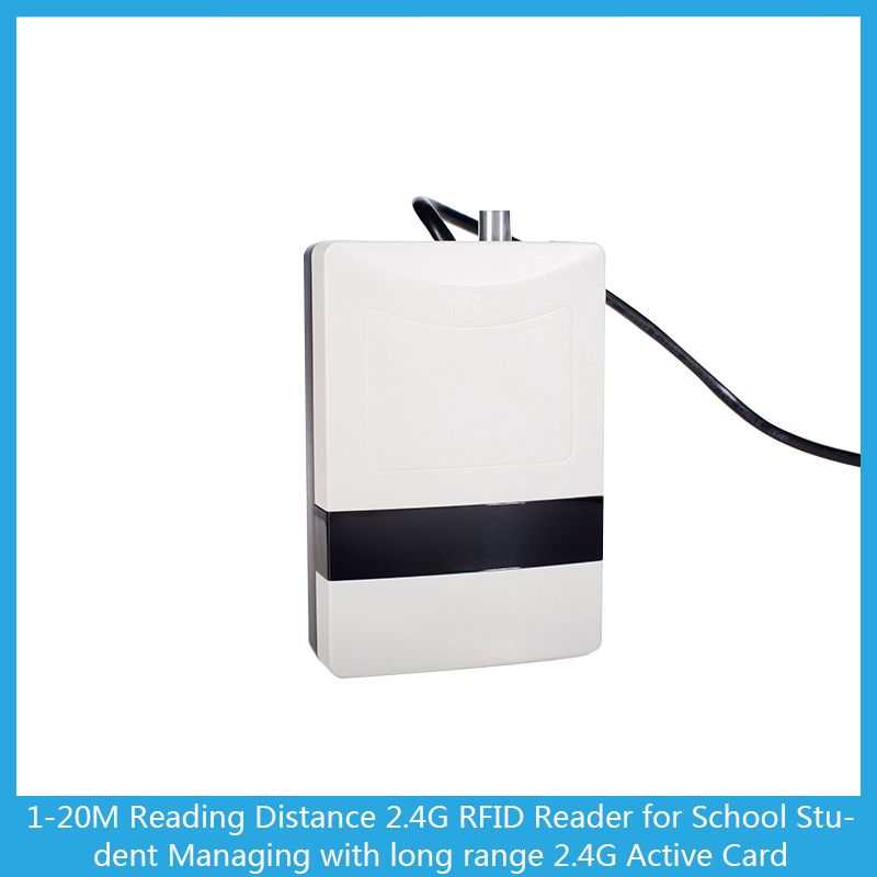 Omni-directional 2.4G Active RFID Reader for Access Control System(China (Mainland))