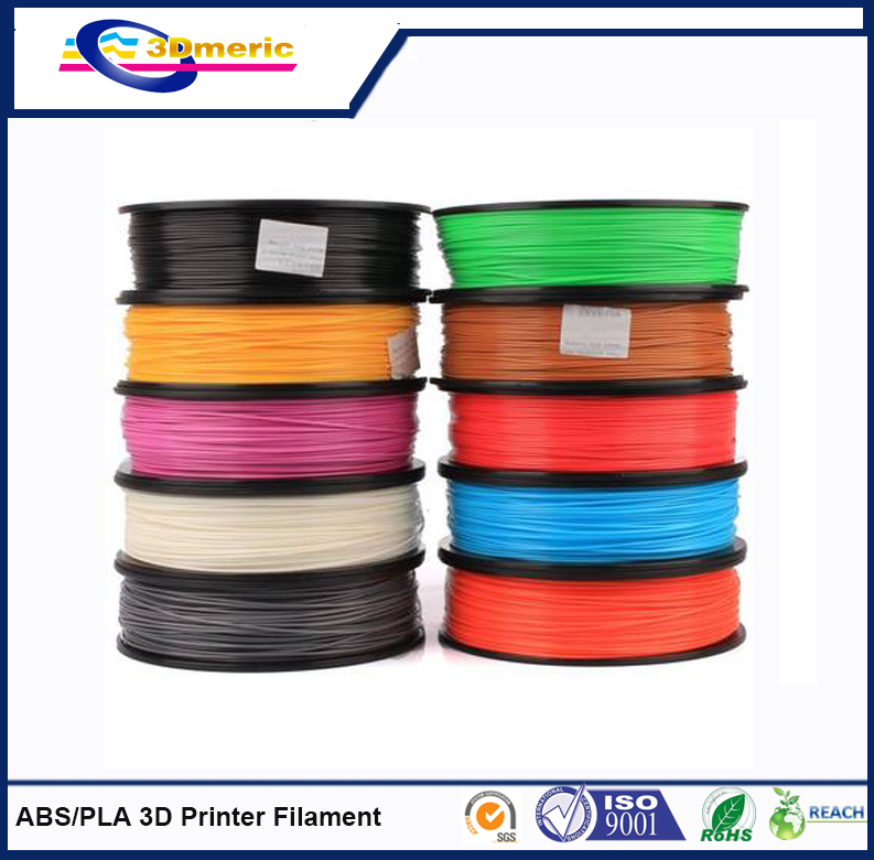 Wholesale 2015 PLA1 75mm 3 0mm 3D printing filament for 3D printer
