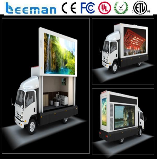 Buy leemanled mobile video led signs for Ecran publicitaire exterieur