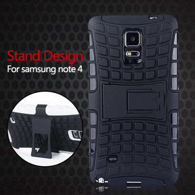 Future Armor Impact Hard Case Clip Holster Samsung Galaxy Note 4 N9100 N910 New Rugged Hybrid Stand Silicone Back Phone - NKOBEE OfficialFlagship Store store