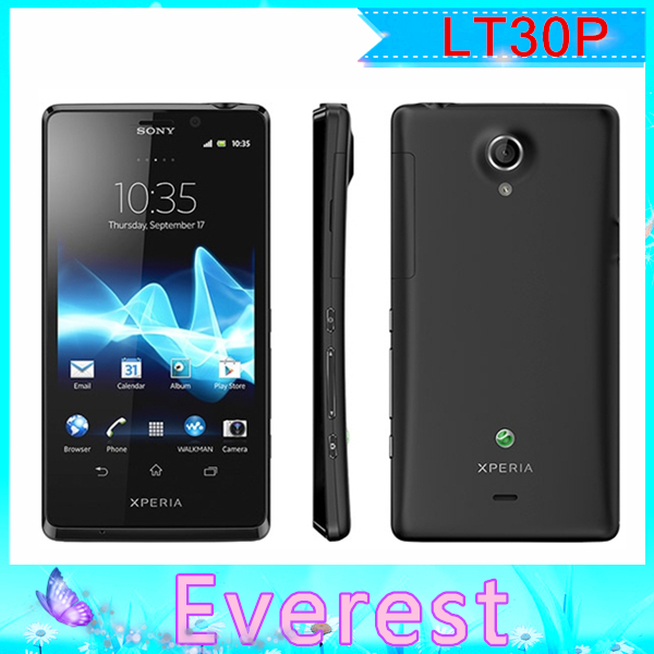 Original Sony Xperia T LT30P LT30 unlocked mobile phone 1+16GB Dual-core 1.5GHz 3G GSM WIFI GPS 4.6'' 13MP Refurbished phones(China (Mainland))