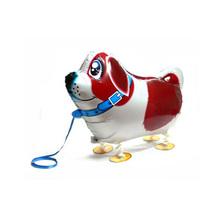 Ходьба Собака Шар, воздуха Прогулки Pet Фольга Шар для Детей Игрушки, гелий Майларовый Шар