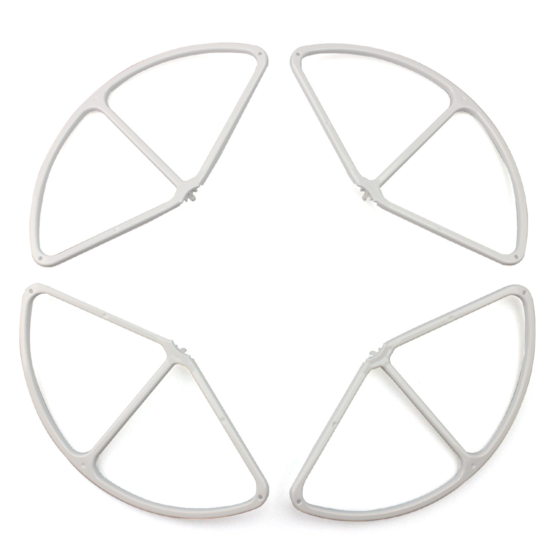 F17775 4x Quick Release Props Propeller Protector Guard Bumpers Shielding Ring for DJI Phantom 4 Drone Spare Parts