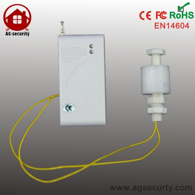 water leak detector with fix-code working with wireless GSM/PSTN alarm system<br><br>Aliexpress