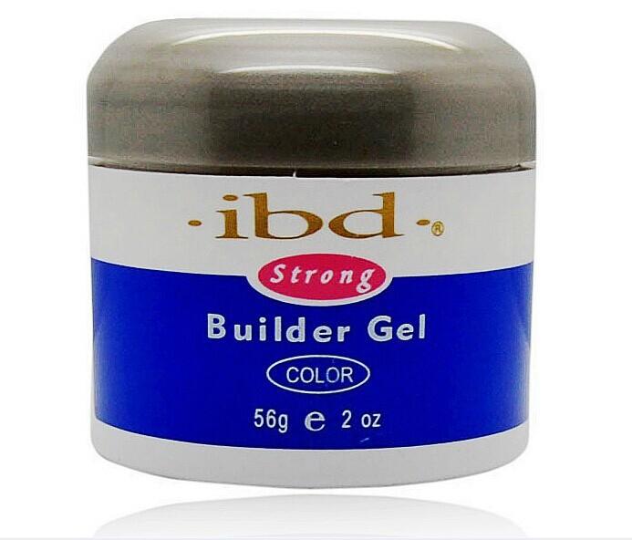 3pcs Nail IBD Gel Builder Nail Gel Beauty Salon 2oz / 56g Strong UV Ge Nail Art false tips extension white pink clearcolor(China (Mainland))