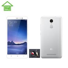 Original Xiaomi Redmi Note 3 Pro Snapdragon 650 Hexa Core 5.5''  2GB RAM 16GB ROM 4000mAh google play MIUI 7 Fingerprint ID(China (Mainland))