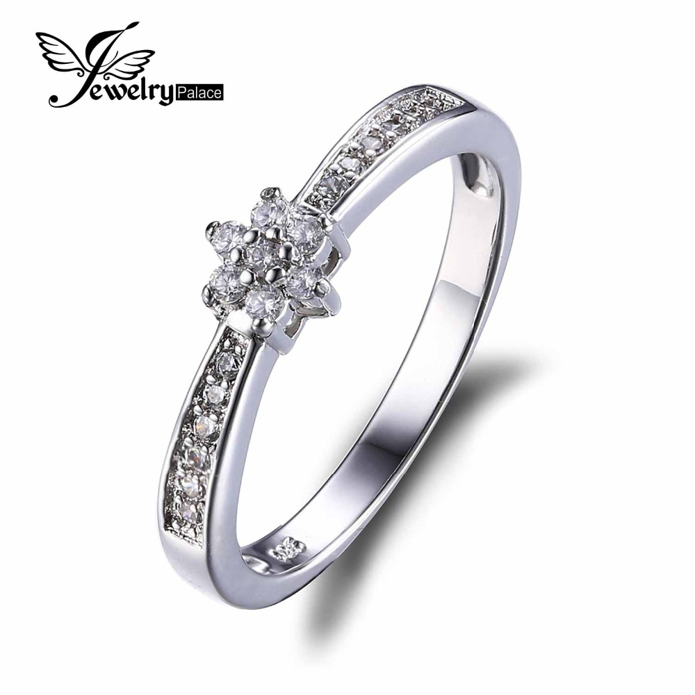 New Design 925 Sterling Silver Flower Style Engagement Ring Classic Band Wedding Ring Fashion 2016 Brand New Fine Jewelry(China (Mainland))