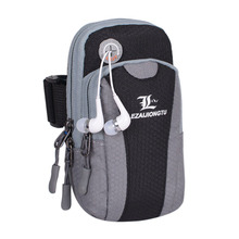 LEZAIJIONGTU Sports Bag Waterproof Running Arm Bag Unisex For Smart Phone Gym Bag Running Bag Fanny Phone Pouch Running Armband(China)