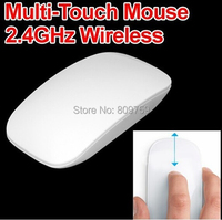 2.4G wireless Multi touch mouse 10M working distance + free shipping